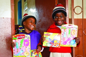 Toys; A Rare and Precious Gift for Orphaned Children